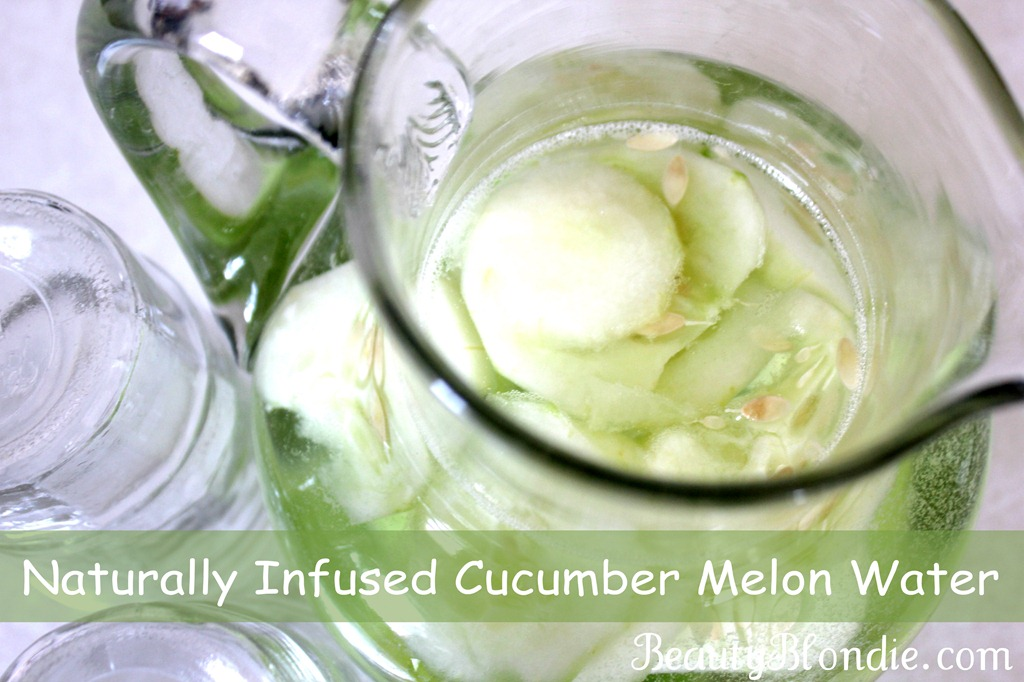 Cucumber Melon Infused Water
