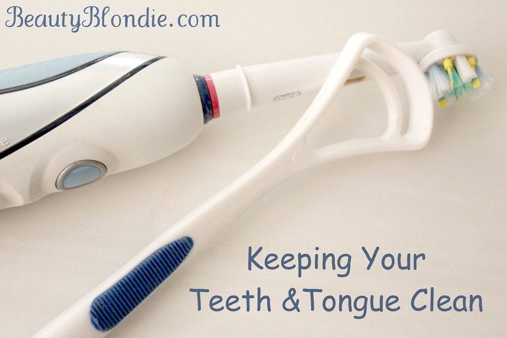 Cleaning Your Tongue