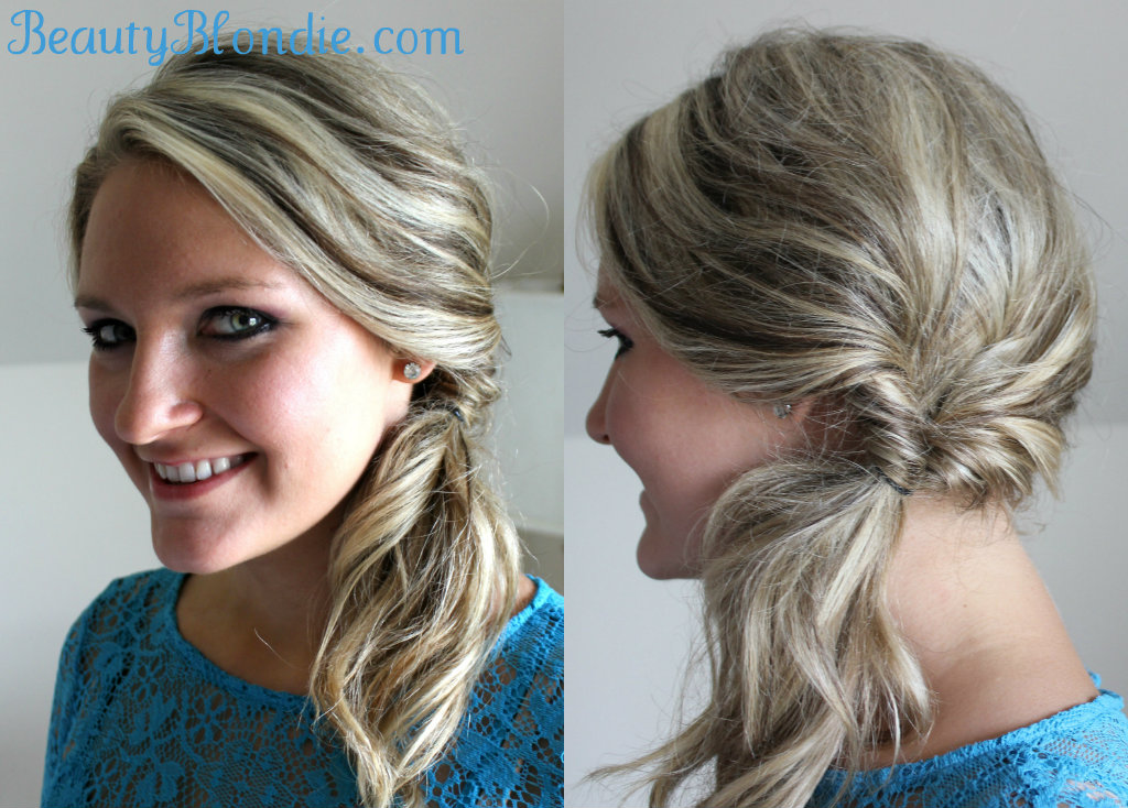 Topsy Tail Hairstyles for Long Hair