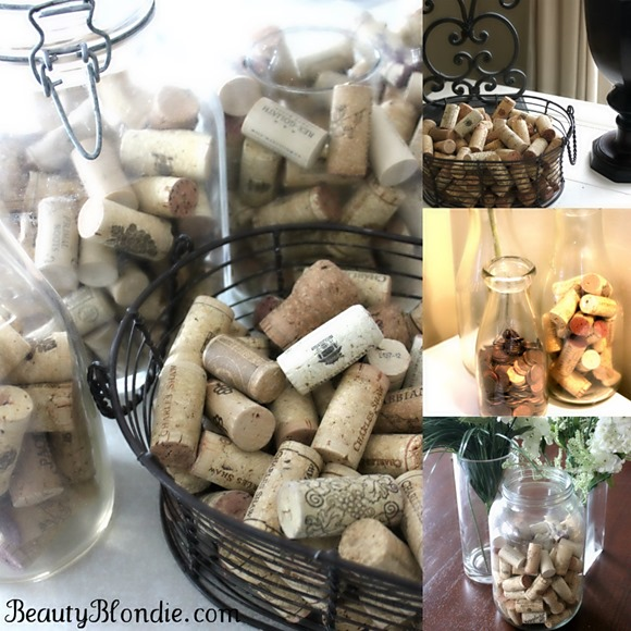 Cork Wedding Decorations: Corks, Corks And More Corks! {Wedding Update}