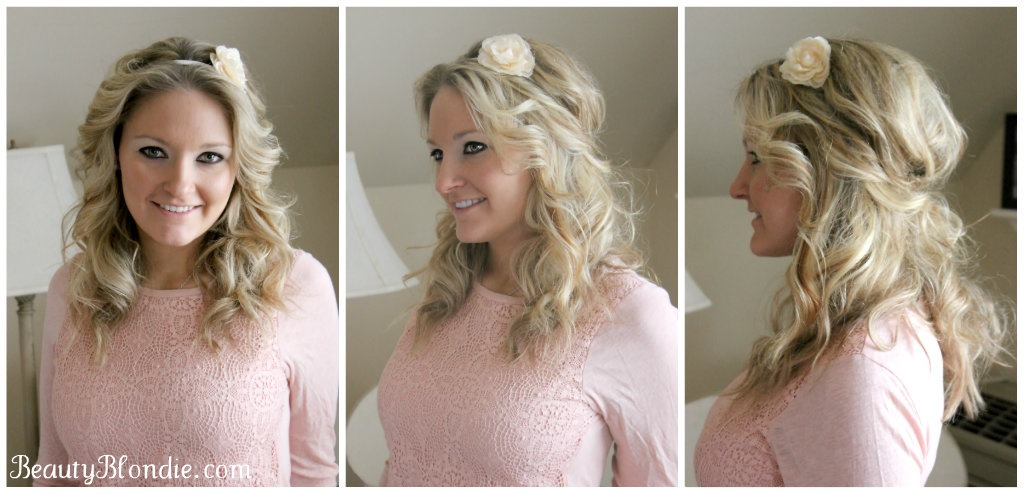 Style Your Hair Using an Elastic Headband in Under 2 Minutes!