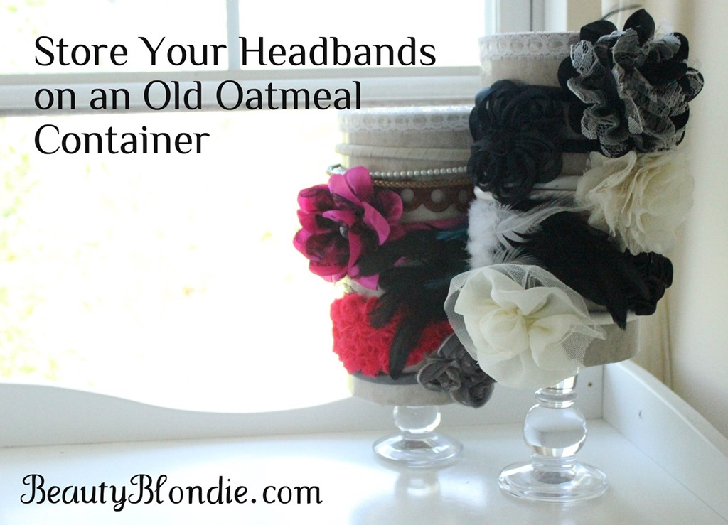 A Cute Way To Display Your Headbands {Mission Organization}