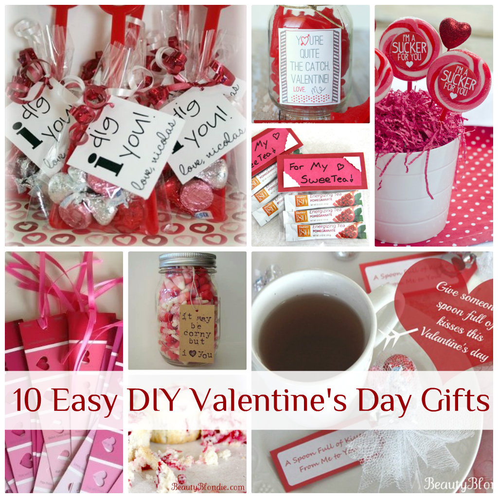 10 easy diy valentine's day gifts, Ideas