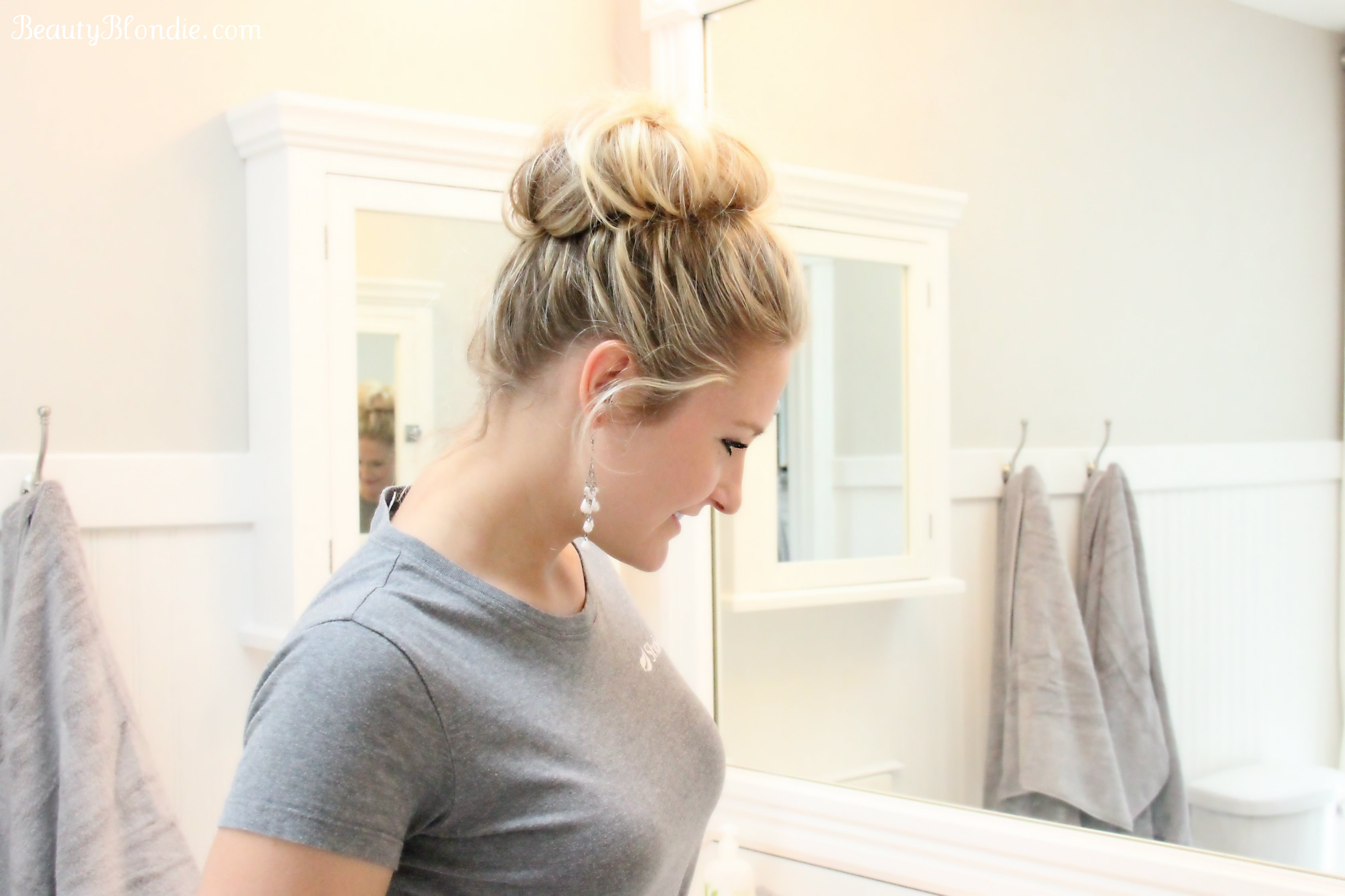 Get your Messy Bun Done in Less than 2 Minutes.