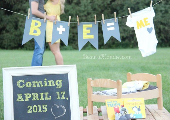 Baby Johnson is on the way! Due April of 2015